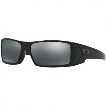 Oakley Gascan Polarized Sunglasses - Matte Black/Black Iridium