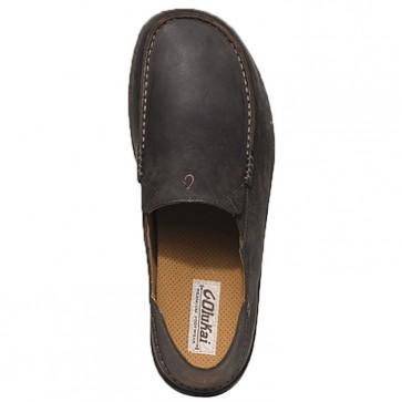 Olukai Moloa Shoes - Dark Wood/Dark Java