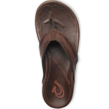Olukai Maka Sandals - Dark Java