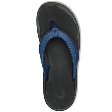 Olukai Women's 'Ohana Sandals - Blueberry/Black