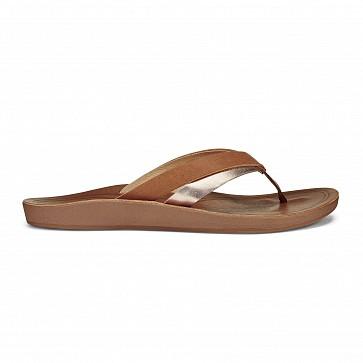 Olukai Women's Kaekae Sandals - Sahara/Bubbly