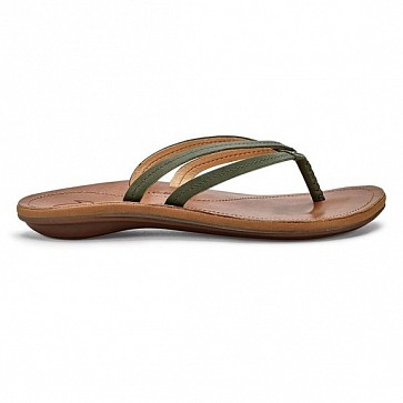 Olukai Women's U'i Sandals - Dusty Olive/Sahara