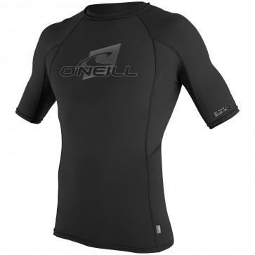O'Neill Wetsuits Skins Short Sleeve Rash Guard - Black