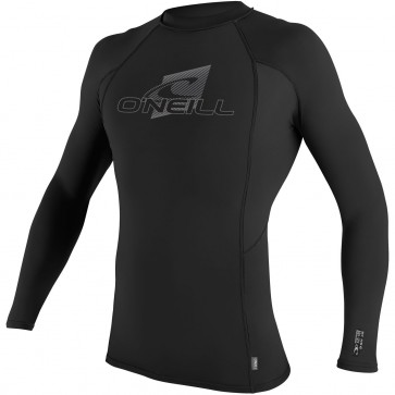 O'Neill Wetsuits Skins Long Sleeve Crew - Black