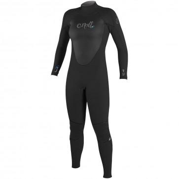 O'Neill Women's Epic 4/3 Back Zip Wetsuit - Black