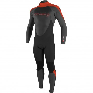 O'Neill Youth Epic 4/3 Wetsuit - Graphite/Black/Red