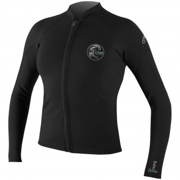 O'Neill Women's Bahia Full Zip Jacket - Black