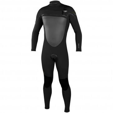 O'Neill Psycho Freak 4/3 Chest Zip Wetsuit - Black