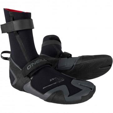 O'Neill Psycho Freak 3.5mm Split Toe Boots - Black/Graphite