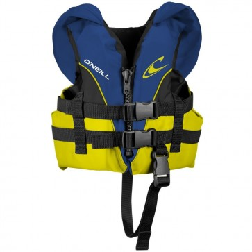 O'Neill Infant Superlite USCG PFD Vest - Pacific/Yellow/Black