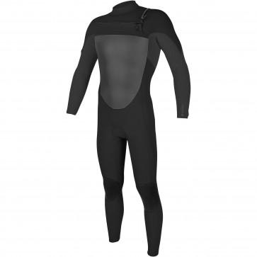 O'Neill O'Riginal 3/2 Chest Zip Wetsuit - Black/Graphite Pin