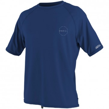 O'Neill Wetsuits 24-7 Traveler Rash Tee - Navy