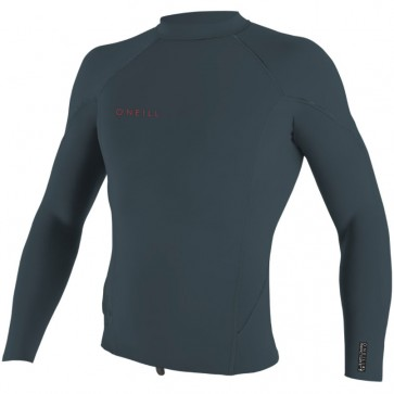O'Neill Wetsuits Youth Reactor II 2mm Long Sleeve Jacket - Slate/Red