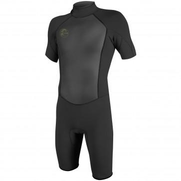O'Neill O'Riginal 2mm Short Sleeve Back Zip Spring Wetsuit - Black