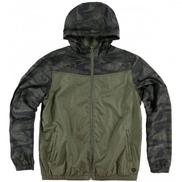 O'Neill Traveler Windbreaker Jacket - Olive