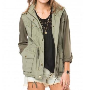 O'Neill Women's Zelda Jacket - Army