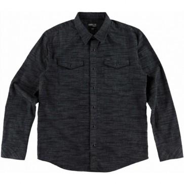 O'Neill Gates Long Sleeve Flannel - Black