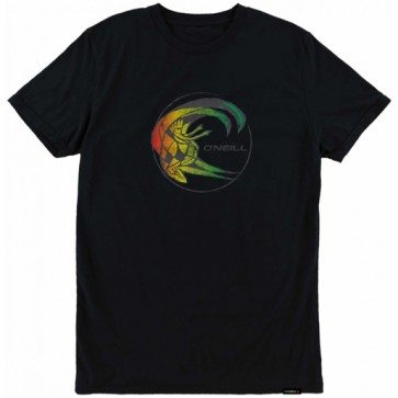 O'Neill Rasta Cult T-Shirt - Black