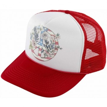 O'Neill Women's Freedom Folk Trucker Hat - Red