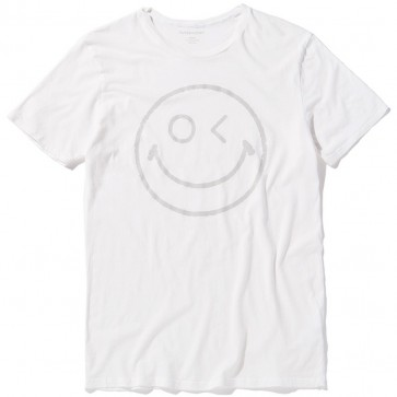 Outerknown Happy Nomadic T-Shirt - Chalk White