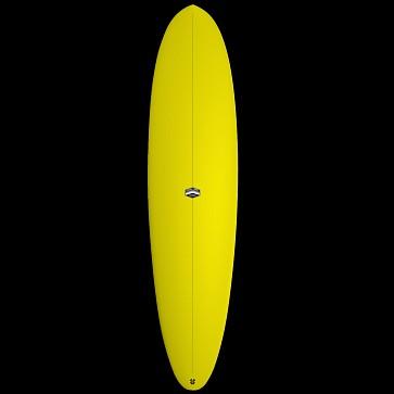CJ Nelson Designs Outlier Thunderbolt Surfboard - Yellow - Deck