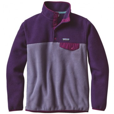 Patagonia Women's Lightweight Synchilla Snap-T Fleece Pullover - Lupine