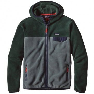 Patagonia Lightweight Synchilla Snap-T Hoody - Nouveau Green