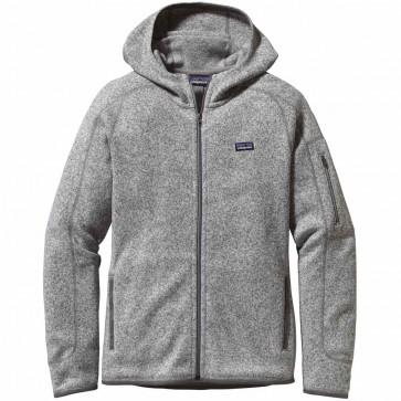 Patagonia Women's Better Sweater Zip Hoodie - Birch White