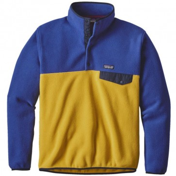 Patagonia Lightweight Synchilla Snap-T Fleece Pullover - Sulphur Yellow
