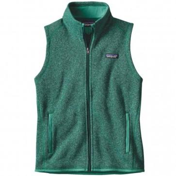 Patagonia Women's Better Sweater Fleece Vest - Impact Green