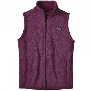 Patagonia Women's Better Sweater Fleece Vest - Violet Red