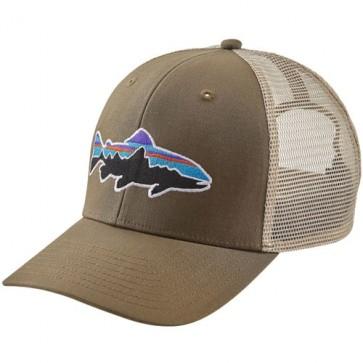Patagonia Fitz Roy Trout Trucker Hat - Dark Ash