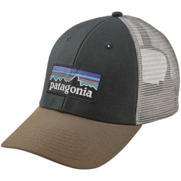Patagonia P-6 LoPro Trucker Hat - Carbon
