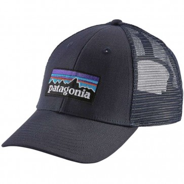 Patagonia P-6 LoPro Trucker Hat - Navy Blue