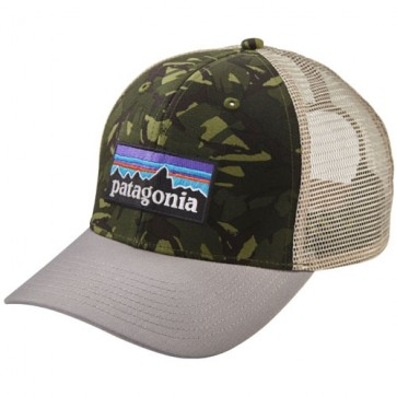 Patagonia P-6 Trucker Hat - Big Camo/Grey