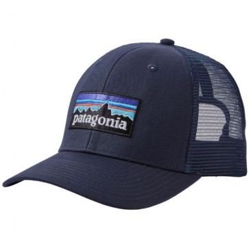 Patagonia P-6 Trucker Hat - Navy Blue/Navy