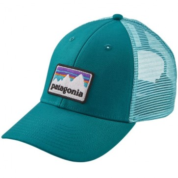 Patagonia Line Logo Badge LoPro Trucker Hat - Filter Blue
