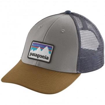 Patagonia Shop Sticker Patch LoPro Trucker Hat - Drifter Grey
