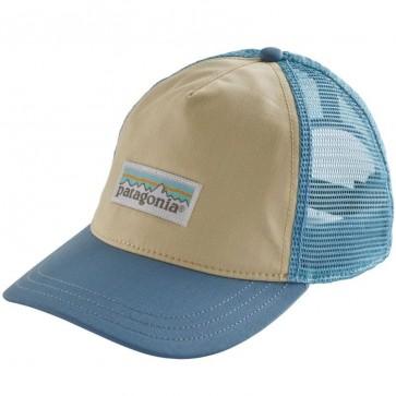 Patagonia Women's Pastel P-6 Label Layback Trucker Hat - Ecru