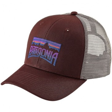 Patagonia Fitz Roy Frostbite Trucker Hat - Dark Ruby