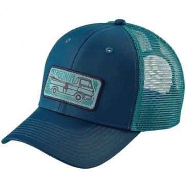 Patagonia Pickup Lines Trucker Hat - Big Sur Blue
