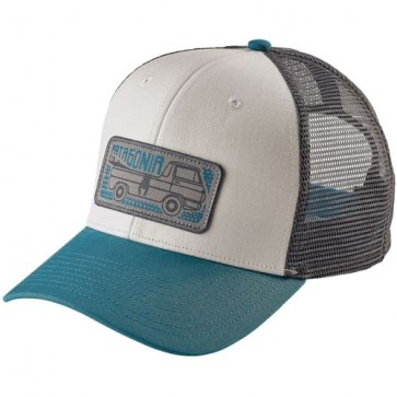 Patagonia Pickup Lines Trucker Hat - White