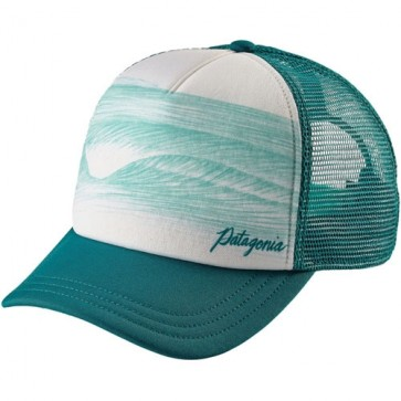 Patagonia Women's A-Frame Interstate Trucker Hat - Elwha Blue