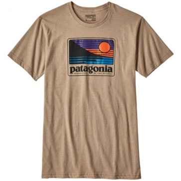 Patagonia Up and Out T-Shirt - Mojave Khaki