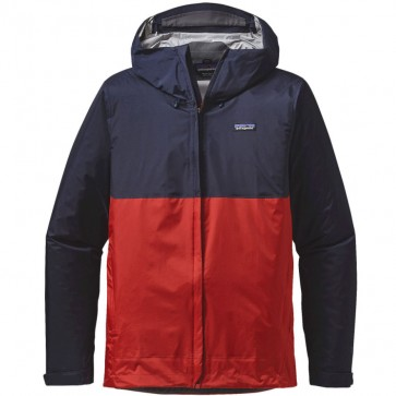 Patagonia Torrentshell Jacket - Navy Blue/Ramble Red