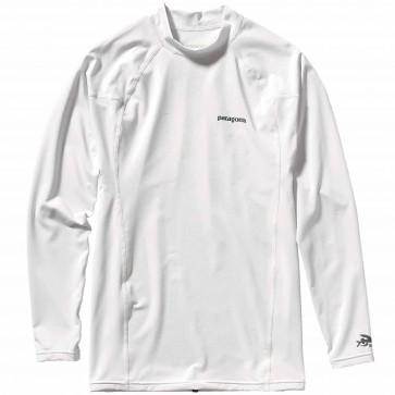 Patagonia Wetsuits R0 Long Sleeve Rash Guard - White