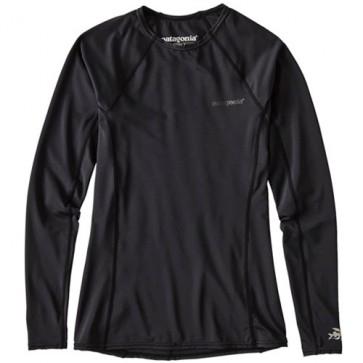 Patagonia Wetsuits Women's R0 Long Sleeve Rash Guard - Black