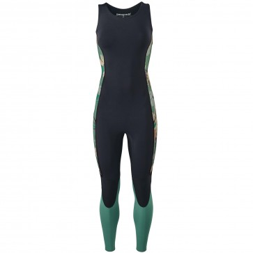 Patagonia Women's R1 Lite Yulex 2mm Long Jane Wetsuit - Cloudbreak/Hemlock Green