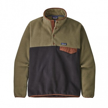 Patagonia Lightweight Synchilla Snap-T Fleece Pullover - Sage Khaki