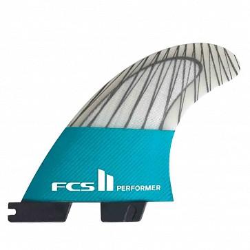 FCS II Fins Performer PC Carbon Medium Tri Fin Set